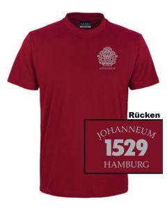 T-Shirt UNISEX (Gr. XS - XL) - 100% BW (bordeaux)