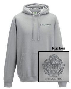 Kapuzen-Sweatshirt - UNISEX (Gr. XS-XL) - 80/20 (hellgrau)